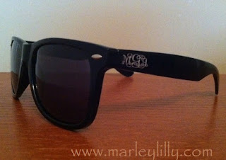 Monogrammed Wayfarers