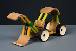 Juguetes de Bambú, Piezas Ecoresponsables