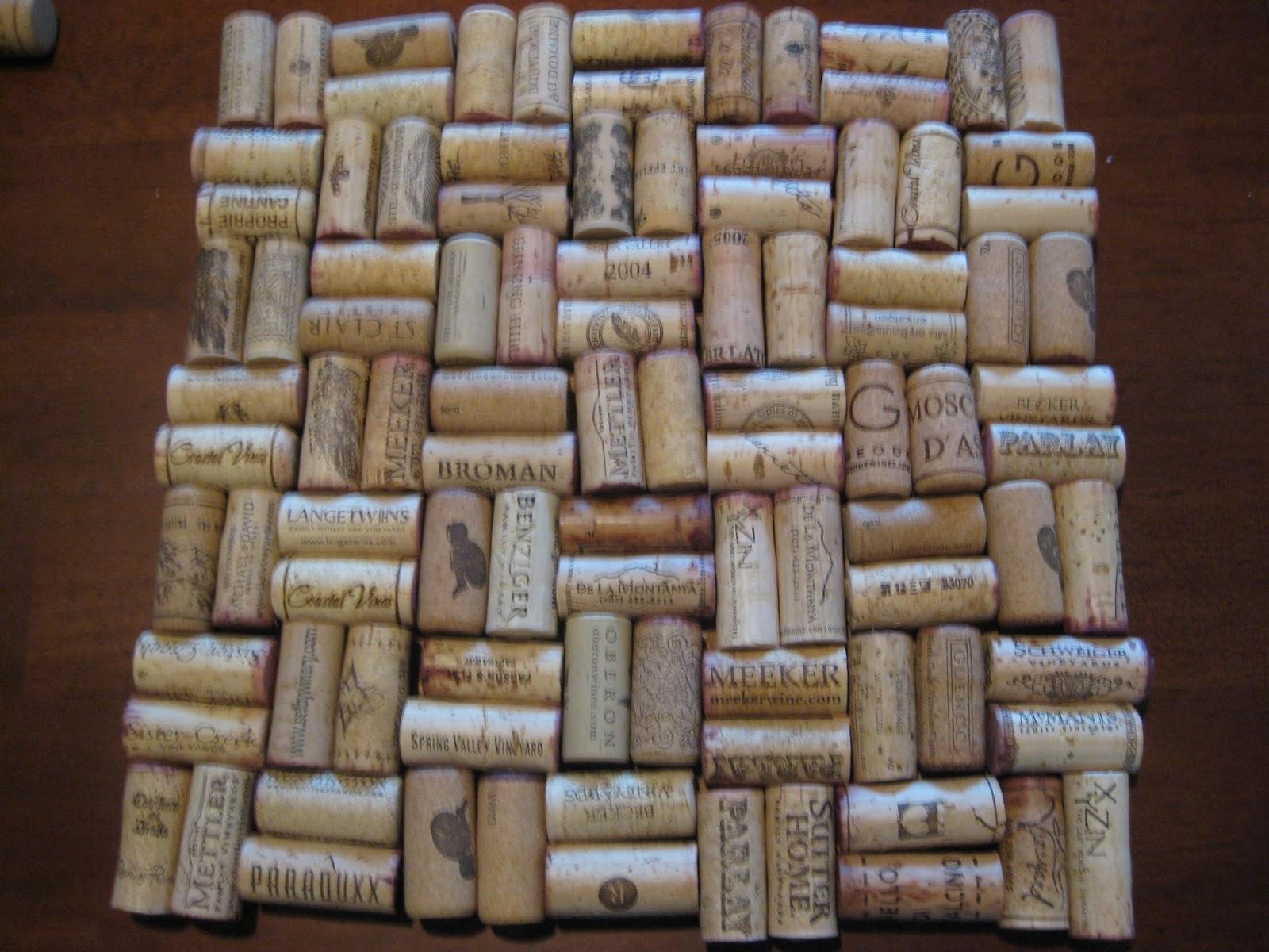 Girl vs craft wine cork cork board for Cork board crafts