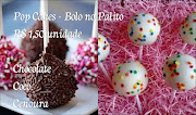 Pop Cakes - Bolos no Palito