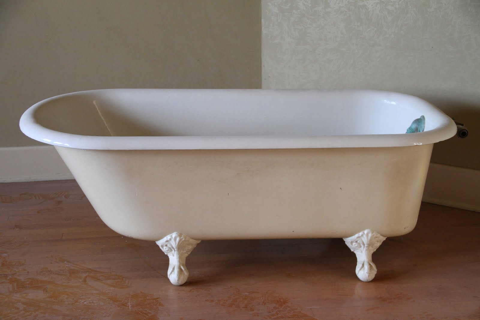 our big house on the prairie the claw foot tub