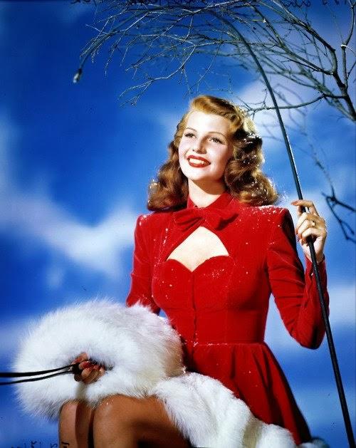 Rita Hayworth navidad