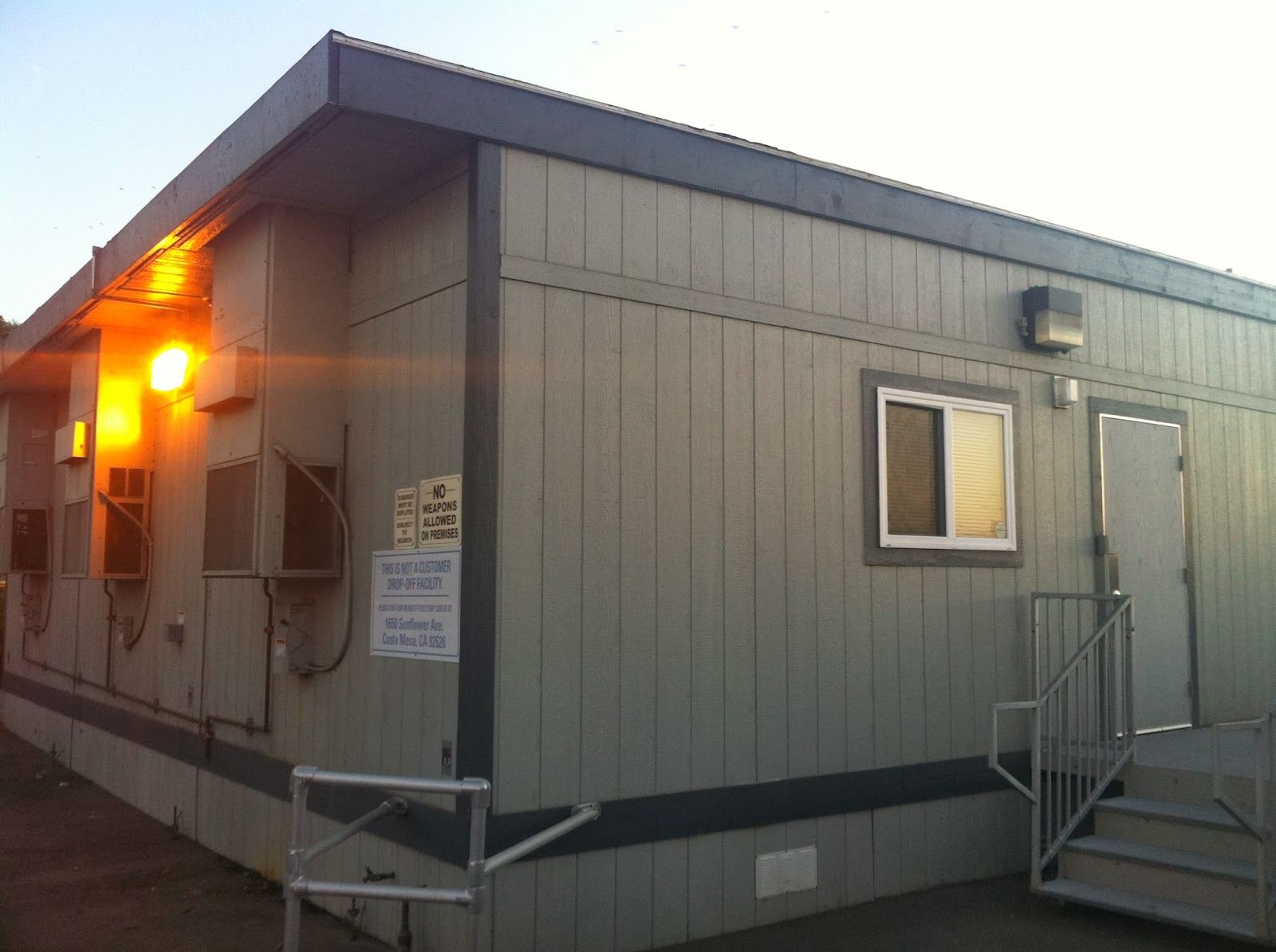 Modular building portable classroom office trailer for Portable shed office