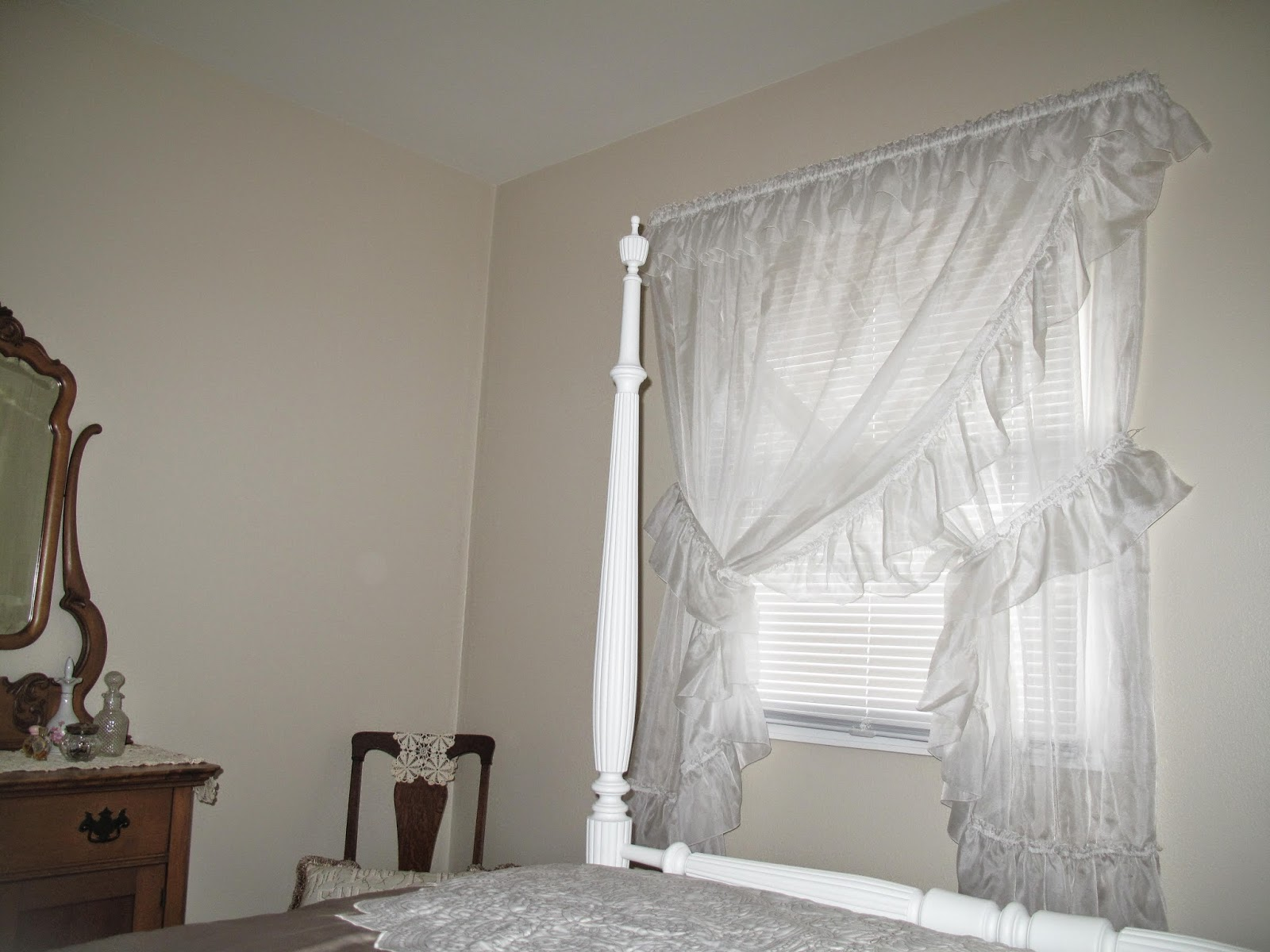 Curtains Ideas Priscilla With Attached Valance Click For Details Jessica Ninon Wide