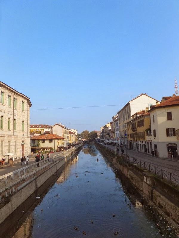 milan italie canaux naviglio