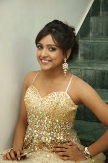 Actress Vithika Sheru Picture in Long Dress at Paddanandi Premalo Mari Movie Audio Launch 34.JPG