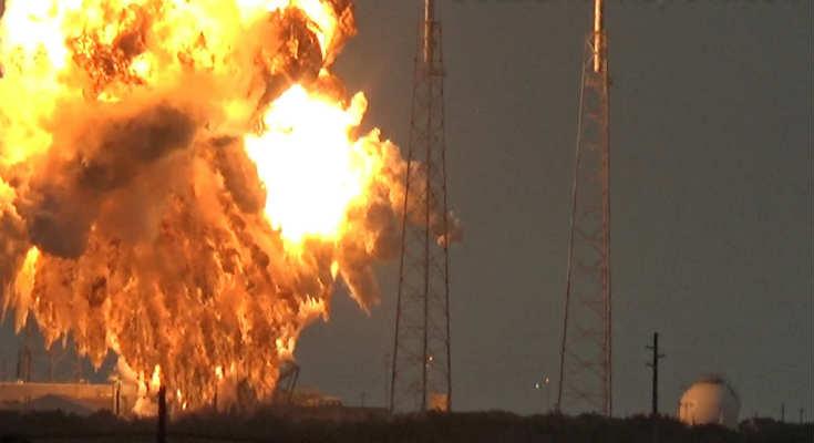 Δείτε το συγκλονιστικό βίντεο με την έκρηξη του πυραύλου Falcon 9 της Space