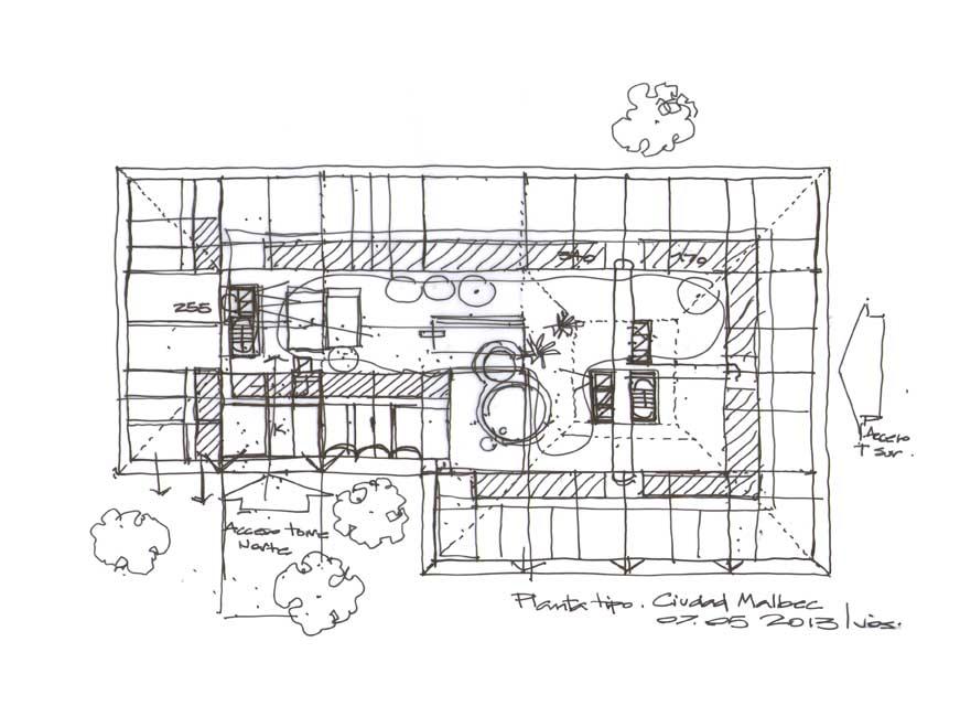 Dibujos de arquitecto architect drawings 2013 05 09 - Cm arquitectos ...