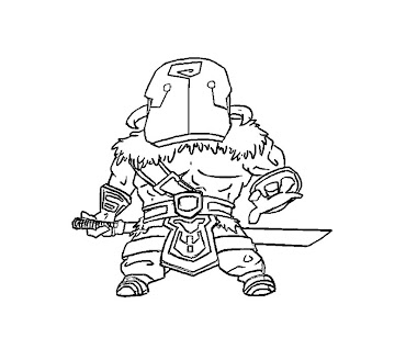 #28 Dota 2 Coloring Page