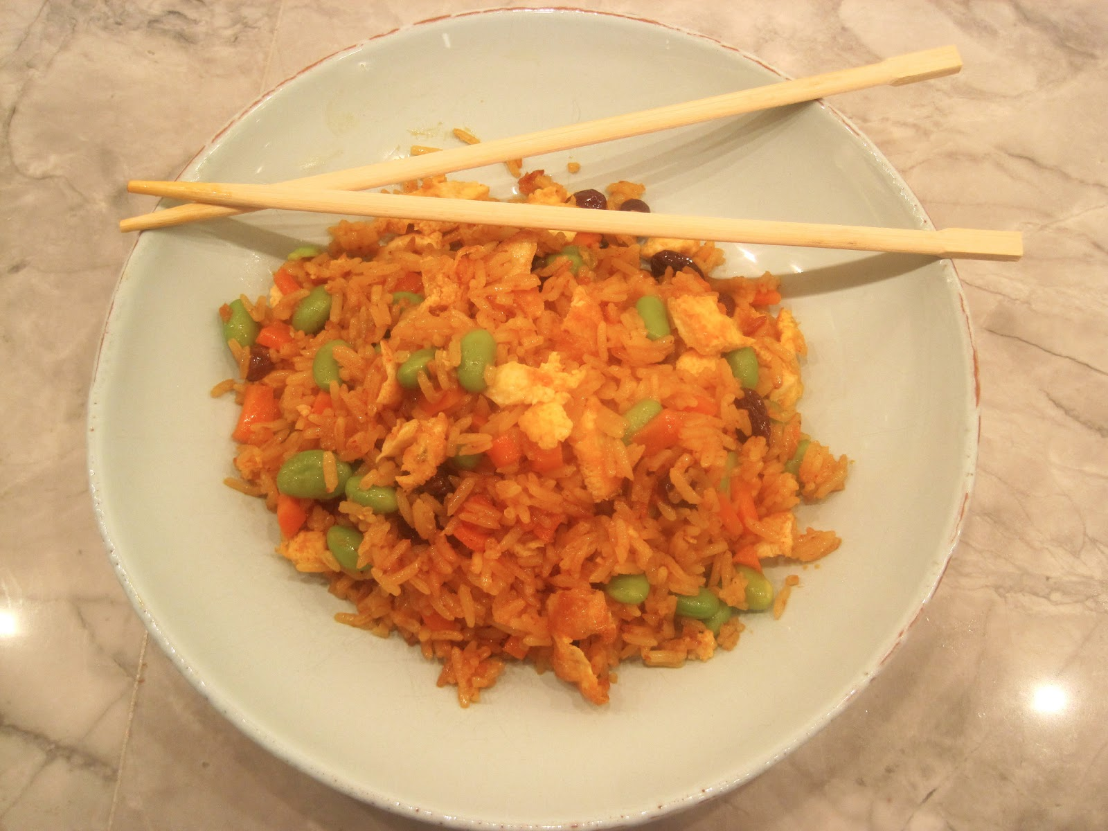 The wooden spoon diaries coconut curried fried rice coconut curried fried rice ccuart Image collections