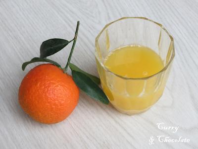 Zumo de naranja dulce