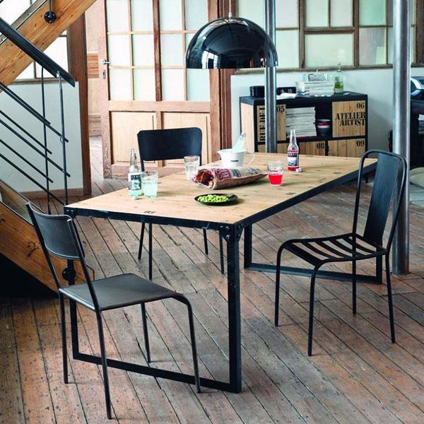 Il tavolo da pranzo in 4 punti coffee break the italian way of design - Tavolo maison du monde ...