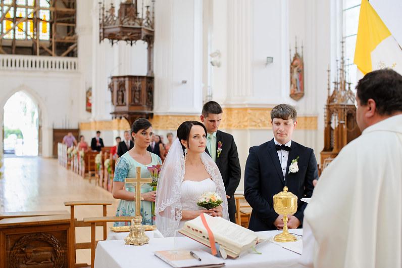 vestuvės Naujamiesčio Šv. apašt. Mato parapijoje