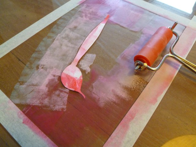 how to make a monotype