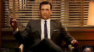 Jon Hamm as Don Draper in AMC's