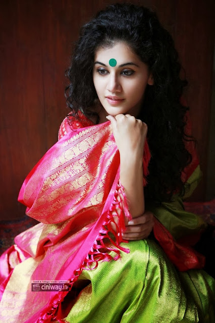 Tapsee Lovely Saree Photoshoot