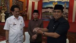 Catatan Akhir Jabatan H Hasan Basri Agus- H Fachrori Umar (3 Agustus 2010 - 3 Agustus 2015)