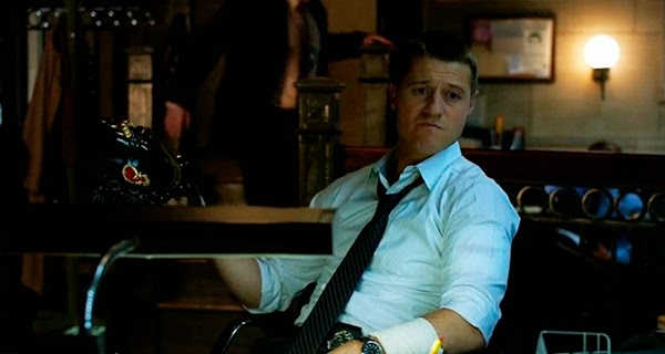 Gordon en Gotham 1x08 - The Mask