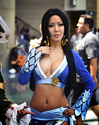 7 Eva Skye as Boa Hancock