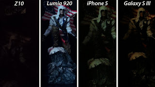 Kamera tes dari iPhone 5, Lumia 920, Blackberry Z10, dan Galaxy S3