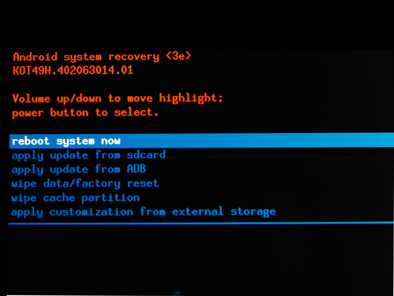 how to send the package with adb sideload