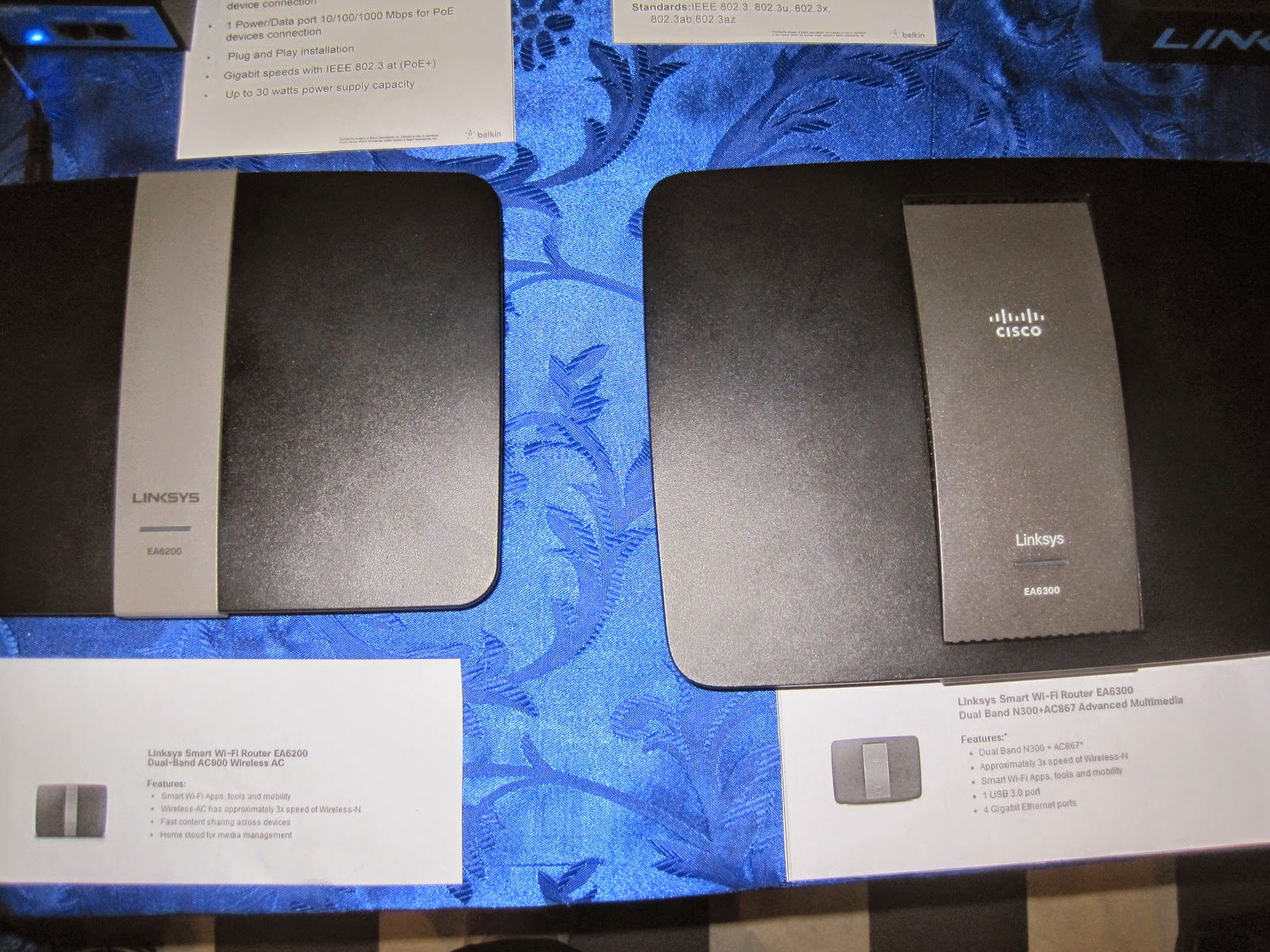 linksys smb switches routers