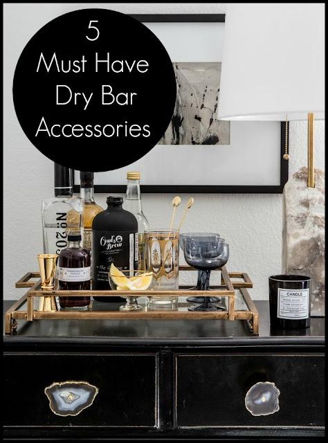 Tonisha ramona 5 must have dry bar accessories - Must have accessories for your home bar ...