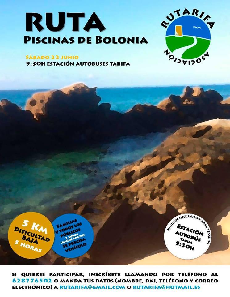Vive en tarifa ruta senderismo piscinas naturales de bolonia for Piscinas naturales bolonia cadiz
