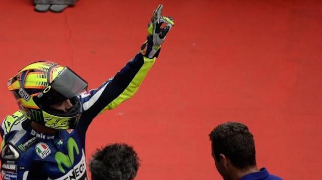 Skenario Terburuk Rossi Jika Ingin Juara di Valencia