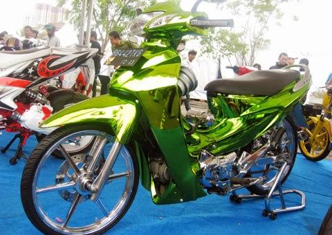 Modifikasi Honda Karisma 125 D Terbaru