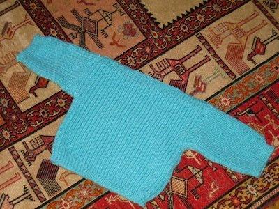 English Rib Baby Pullover
