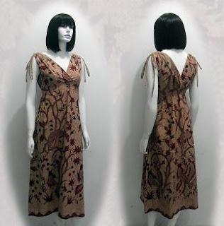 Model Baju Batik Modern Terbaru 2013