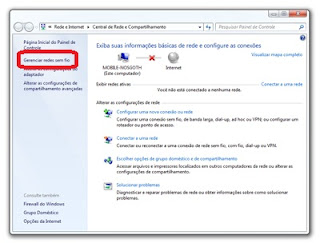 redes sem fio windows 7