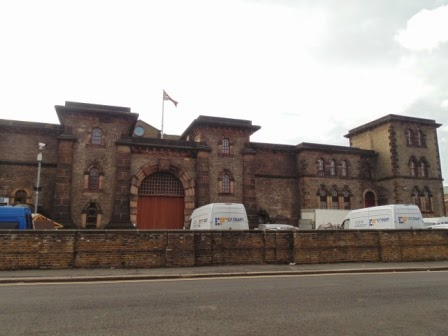 Front of Wandsworth Prison (Copyright G.K. Jakobs)