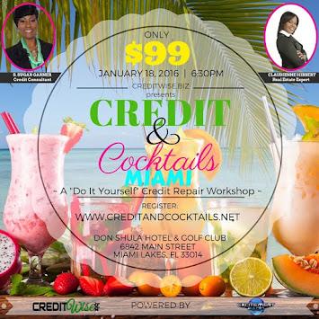 EVENT: Credit & Cocktails Miami