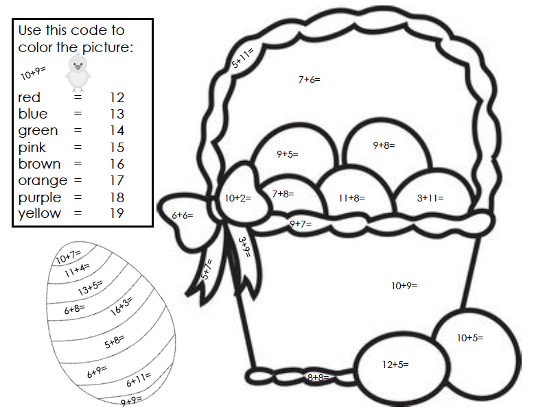 2nd grade math coloring worksheets pre writing worksheets number 3 ...