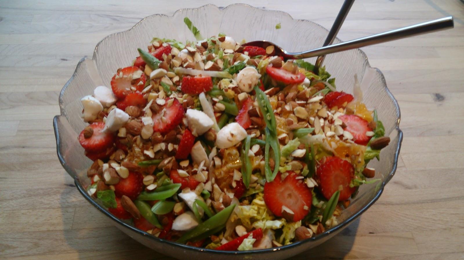 lækker salat til culottesteg