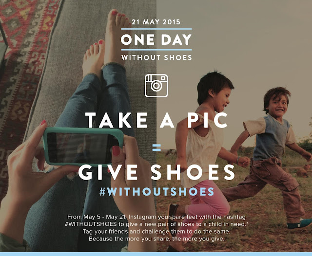 TOMS #WithoutShoes