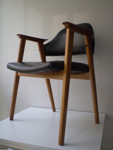 Vintager a silla a os 50 dise o escandinavo for Sillas diseno escandinavo