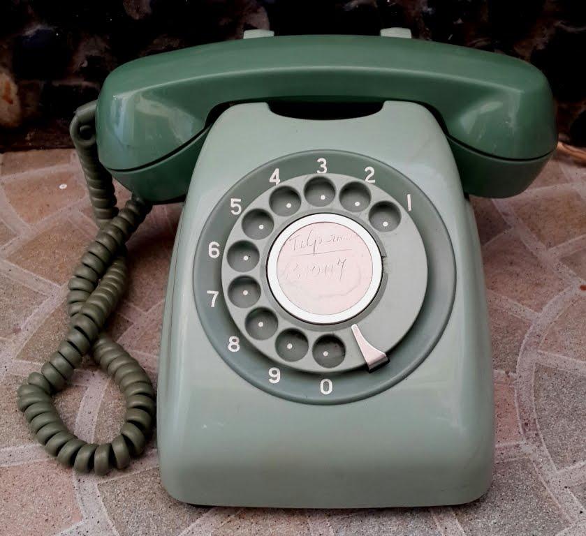 Telepon putar Hijau #4