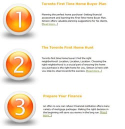 First Time Home Buyer | Easy 1-2-3 Program