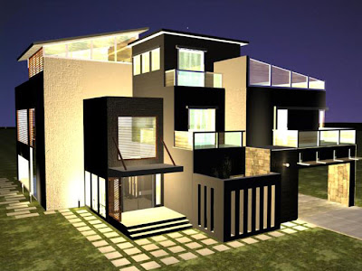 Beautiful Home The Best Film In 3D Plans Banglows | luxury house, best