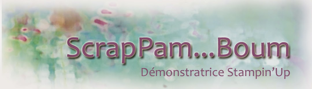 Scrap Pam ...Boum (démonstratrice Stampin' Up)