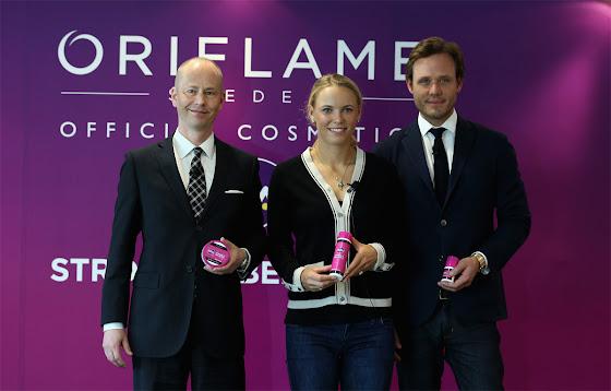 Lançamento da linha WTA Strong is Beautiful para a Oriflame