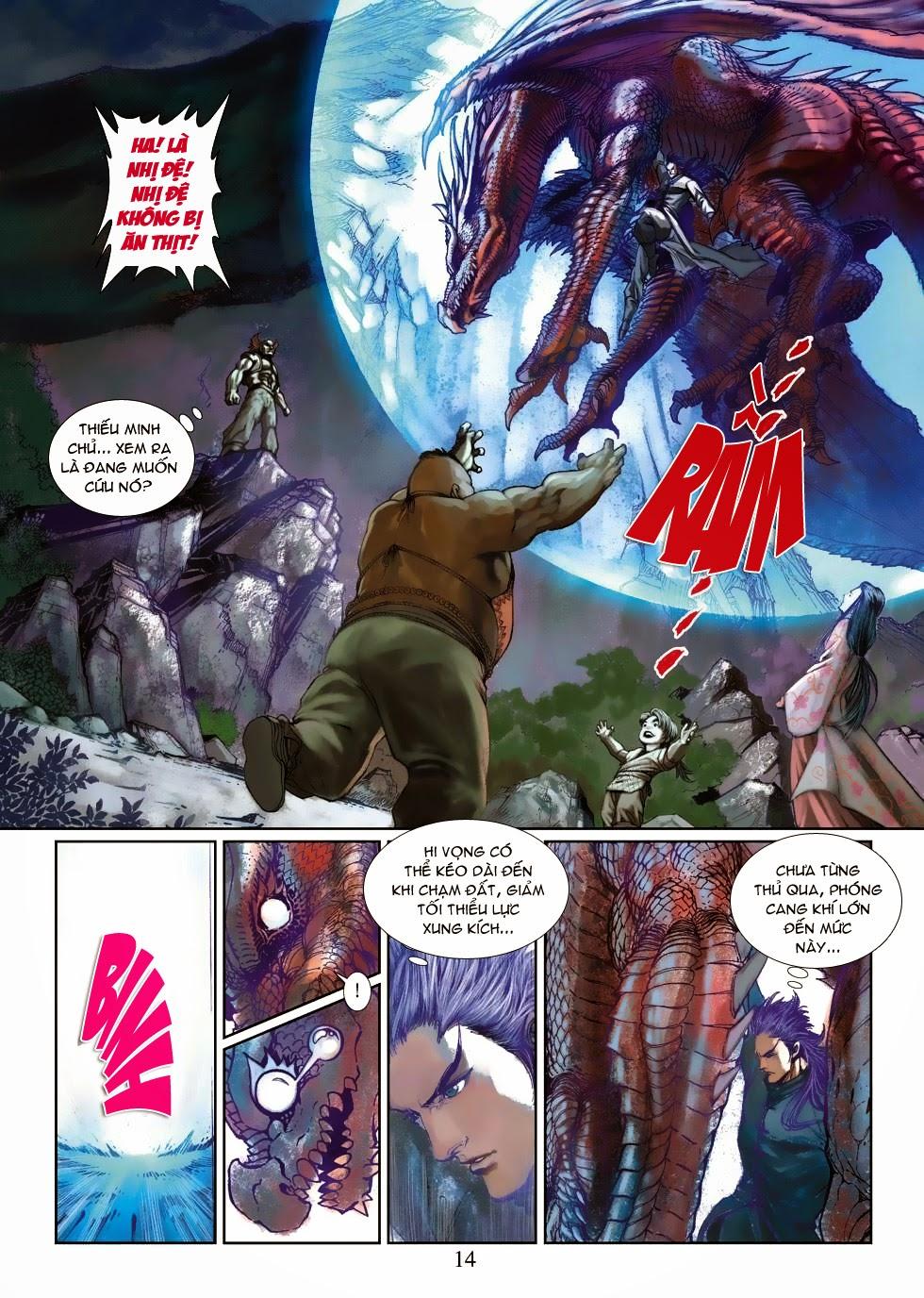 Thần Binh Tiền Truyện 4 - Huyền Thiên Tà Đế chap 3 - Trang 14