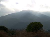 El Montseny vist des de sota el Coll de Taradell
