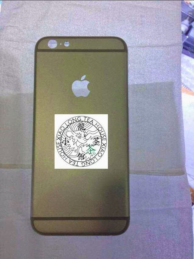 Leaked iPhone 6 Back Rear Shell Photo