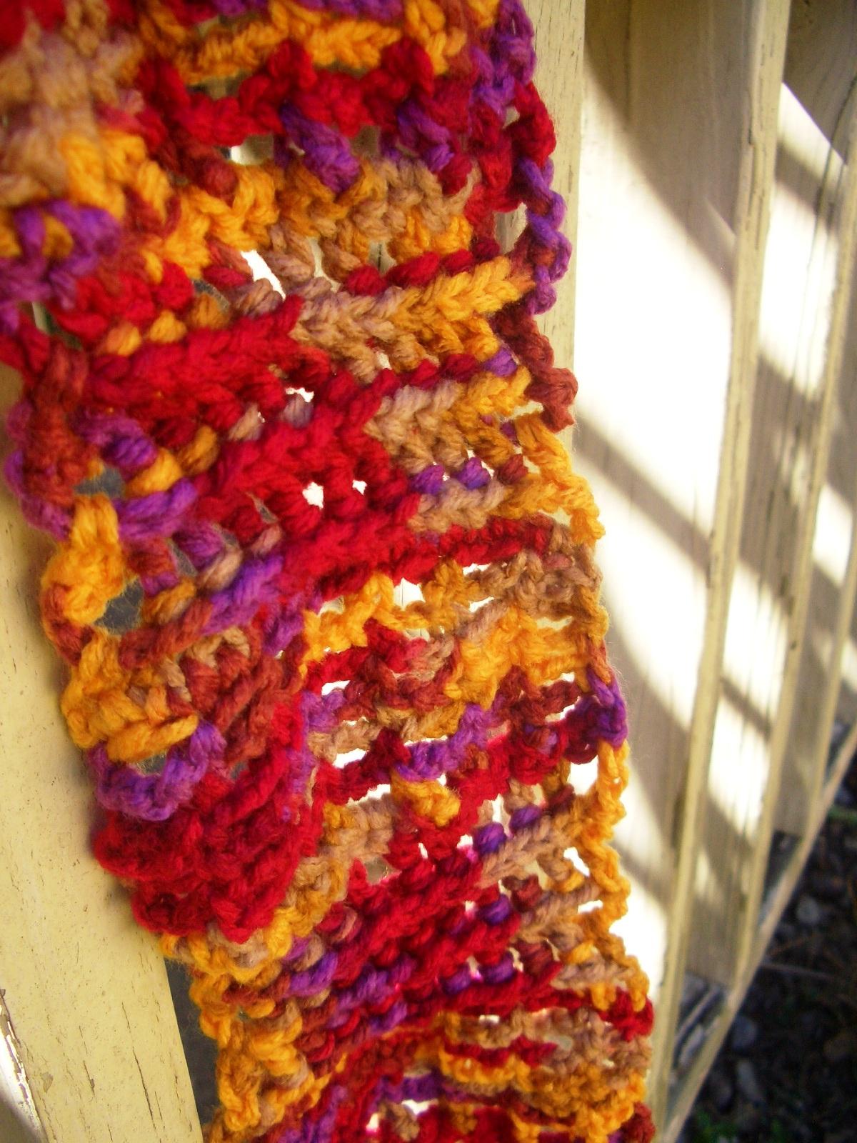 Crochet Parfait: One-Skein Maze Scarf