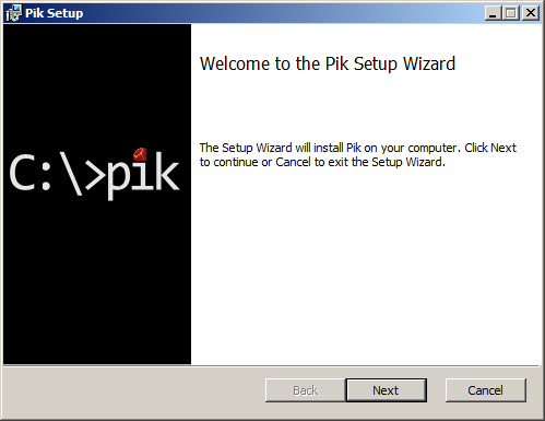 Pik Installer