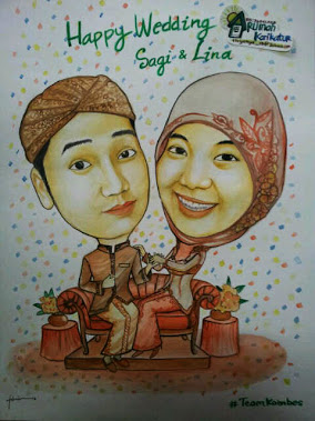 Karikatur For Prewedding / Wedding Gift